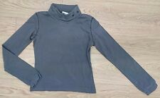 LOVELY LADIES WOMENS TURTLENECK STRETCH JUMPER TOP SIZE M