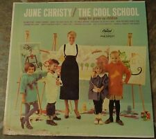 "Album By June Christy, ""The Cool School"" on Capitol"