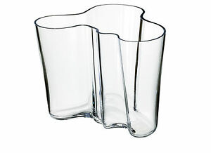 Alvar Aalto Vase Clear 160 cm Iittala