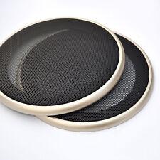 2X 6.5'' 200mm rejilla del altavoz Steel Speaker Grills Cover Auto Universal
