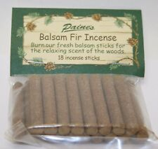 INCENSE REFILL 18 BALSAM FIR STICKS Paine's SACHET scented pine log