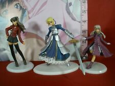Saber, Rin, Illyasviel Mini Figure Lot, From the Fate Series