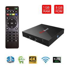 Greatlizard X96 android 7.1 Smart TV Box 1GB RAM 8GB ROM WiFi 1080p 4K 64 Bit Me