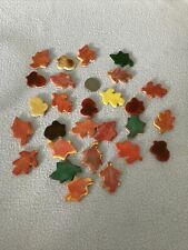 New listing Porcelain Ceramic Mosaic Fall Leaves