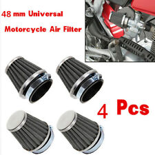 4PCS 48mm Steel Pod Air Filter Cleaner For PIT PRO Quad Dirt Bike ATV Dune Buggy