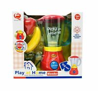 Kids Pretend simulatio Kitchen Appliance Juicer Play Set Toy Battery Operated