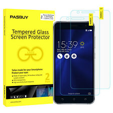 PASBUY 2 Pack Premium Tempered Glass Screen Protector for Asus ZF3 ZE552KL