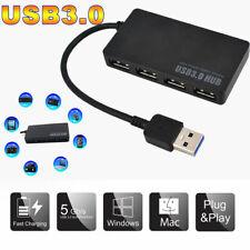 Car3 Port USB Hub USB 3.0//2.0 High Speed Hub Splitter Box For PC Notebook Laptv!