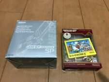 GameBoy Advance SP console Platinum Silver Color with BOX and Manual