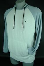 New Mens Large Hurley Gray  Underhood  Pull Over Hoody Hooded Jacket $59.50