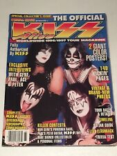 Metal Edge Presents The Official KISS Alive Worldwide 1996/97 Tour Magazine