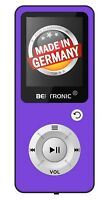BERTRONIC Made in Germany BC04 MP3-Player - Lila - 100 Stunden