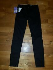 NWT Women's Black BUFFALO DAVID BITTON Royal Mid-Rise Stretch Skinny Pants 6