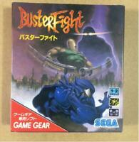 Buster Fight Game Gear GG Sega Used Japan Import Action Game 1994 Boxed Tested