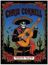 Chris Cornell Soundgarden Phoenix AZ Tour 2015 Guns N Roses Sticker or Magnet