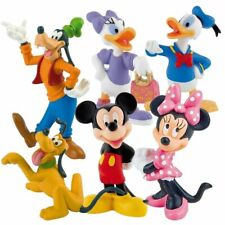 Bullyland Disney Mickey Mouse Figuren Spiel Set Minnie Pluto Goofy Donald Daisy