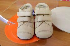 Scarpe shoes primipassi bambino CHICCO NR. 21 in pelle beige NUOVE!