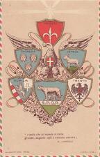 C333) WW1, STEMMI ARALDICI DI TRIESTE, GORIZIA, TRENTO, ISTRIA, DALMAZIA.