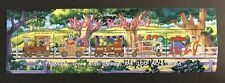 GRENADA GRENADINES 1998 DISNEY POOH'S RAILROAD STAMP SHEET TRAIN 100 ACRE WOOD
