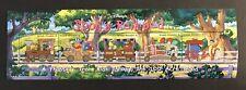 SALE!! GRENADA GREN. 1998 DISNEY POOH'S RAILROAD STAMP SHEET TRAIN 100 ACRE WOOD