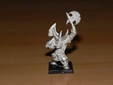 Warhammer Fantasy: Black Orc Boss - Metal - OOP - Miniatures Games -