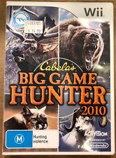 Cabelas Big Game Hunter 2010 (Nintendo Wii, 2010)