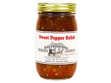 Sweet Pepper Relish - Byler's Relish House - 16oz Jar