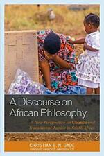 Un Discourse On Africano Philosophy: a New Perspective On Ubuntu Y Transición