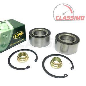 Rear Wheel Bearing Kit Pair for MERCEDES 190 W201 + C-CLASS W202 W203 -1982-2007