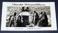 PHOTO CHOCOLAT DELESPAUL-HAVEZ 1950 TERRE SAINTE BETHANIE TOMBEAU DE LAZAR