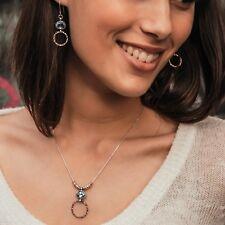 3.1 Ct Topaz Gemstone Gold Filled & Silver Drop/Dangle Earrings