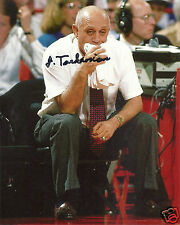 JERRY TARKANIAN UNLV RUNNIN REBELS SIGNED 8X10 PHOTO W/COA #1