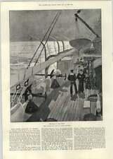 1892 HMS HOWE échoué à Ferrol John Dryden William Davenant Thomas Shadwell