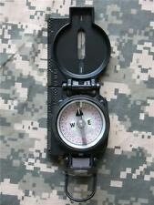 NEW - MILITARY MAGNETIC LENSATIC COMPASS by CAMMENGA - SWAT BLACK - JUNE 2018