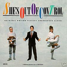 She's Out Of Control - 1989-Original Movie Soundtrack CD
