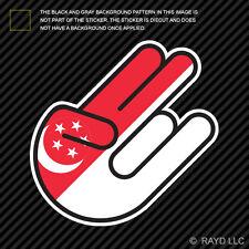 Singaporean Shocker Sticker Die Cut Decal Self Adhesive Vinyl Singapore SGP SG