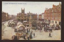 Northants PETERBOROUGH Market Place 1923 PPC