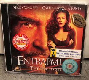 Video CD Film 2 Discs Entrapment The Trap Is Set