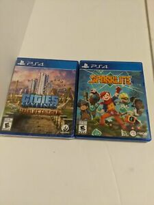 Cities Skylines Parklife Edition + Sparklite PS4 Brand New Sealed