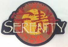 Firefly Serenity - Tv & Movie Logo - Iron-On Patch - Joss Whedon