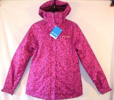 $230 COLUMBIA CABIN CHILLS Pink Purple 3 in 1 INTERCHANGE JACKET Medium