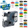 Dymo D1 Tape Black on White 19mm/12mm/9mm for Dymo Label Manager Printer 160 280