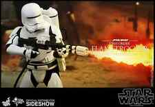 HOT TOYS STAR WARS FIRST ORDER FLAMETROOPER  1:6 SCALE THE FORCE AWAKENS