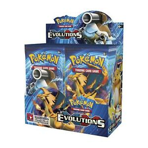 1 🔥🔥 Pokemon TCG: XY Evolutions Booster Pack. 10 Card Pack. Factory Sealed