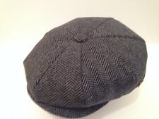 Newsboy Baker Boy County Tweed Peaky Blinders Cabby Flat Cap Medium 56-57cm