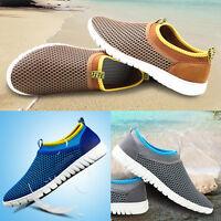 Herren-Mesh-Sneaker-Schuhe-Loafer-Laufschuhe-Turnschuhe-Sommer-Sportschuhe  Her