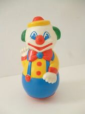 ♥ Jouet Ancien Culbuto Clown Made In France Educo