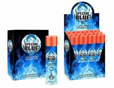 72 Cans - Butane Gas Special Blue 9X refined. Lighter Refill Wholesale Fuel