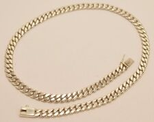 925 Sterling Silver Curb Chain Necklace. 78 grams, 50cm, 20""