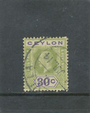Used Single Ceylon Stamps (pre-1948)